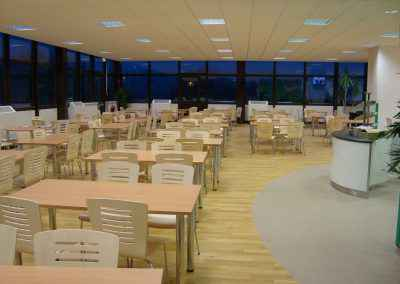 Airedale Hospital Canteen Flooring 2