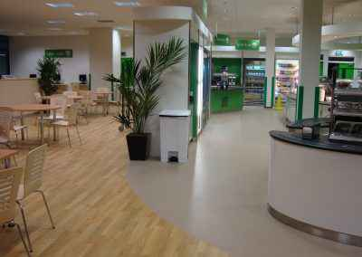 Airedale Hospital Canteen Flooring 4