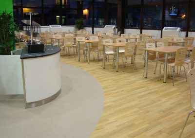 Airedale Hospital Canteen Flooring 5