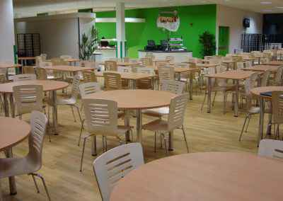 Airedale Hospital Canteen Flooring 7