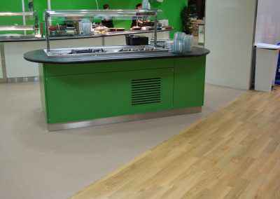 Airedale Hospital Canteen Flooring 8