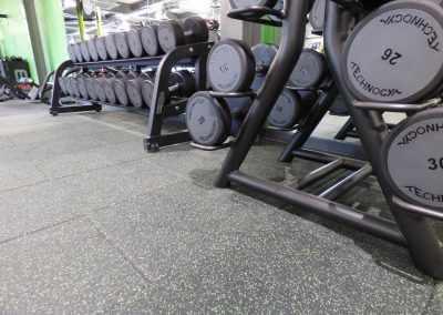Free Weights Flooring