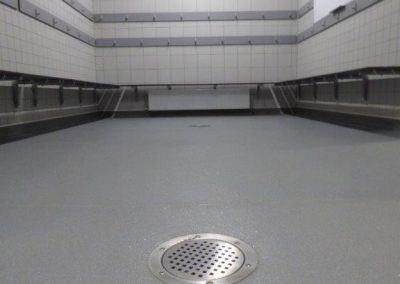 Changing Room Flooring